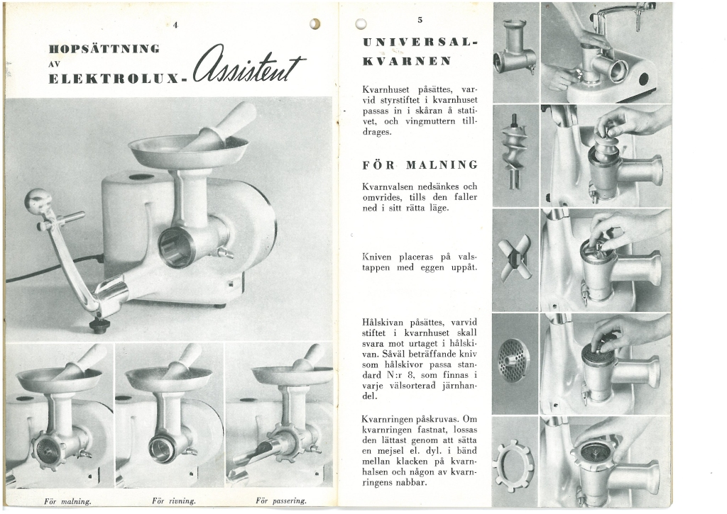 Electrolux Assistent Instruction Manual 2