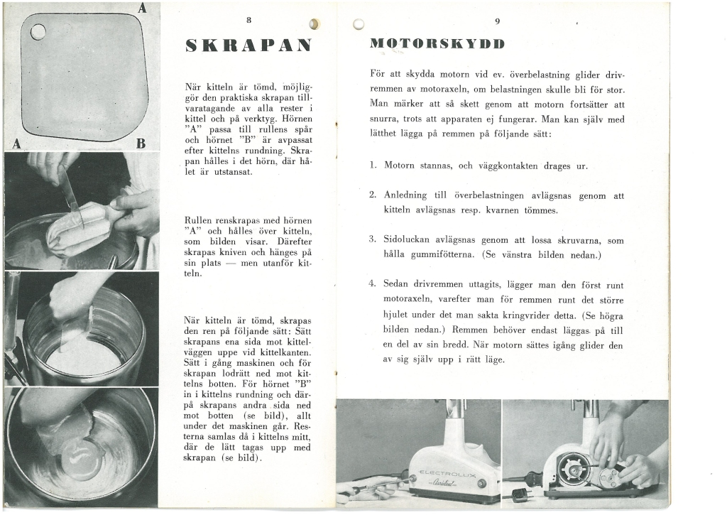 Electrolux Assistent Instruction Manual 4