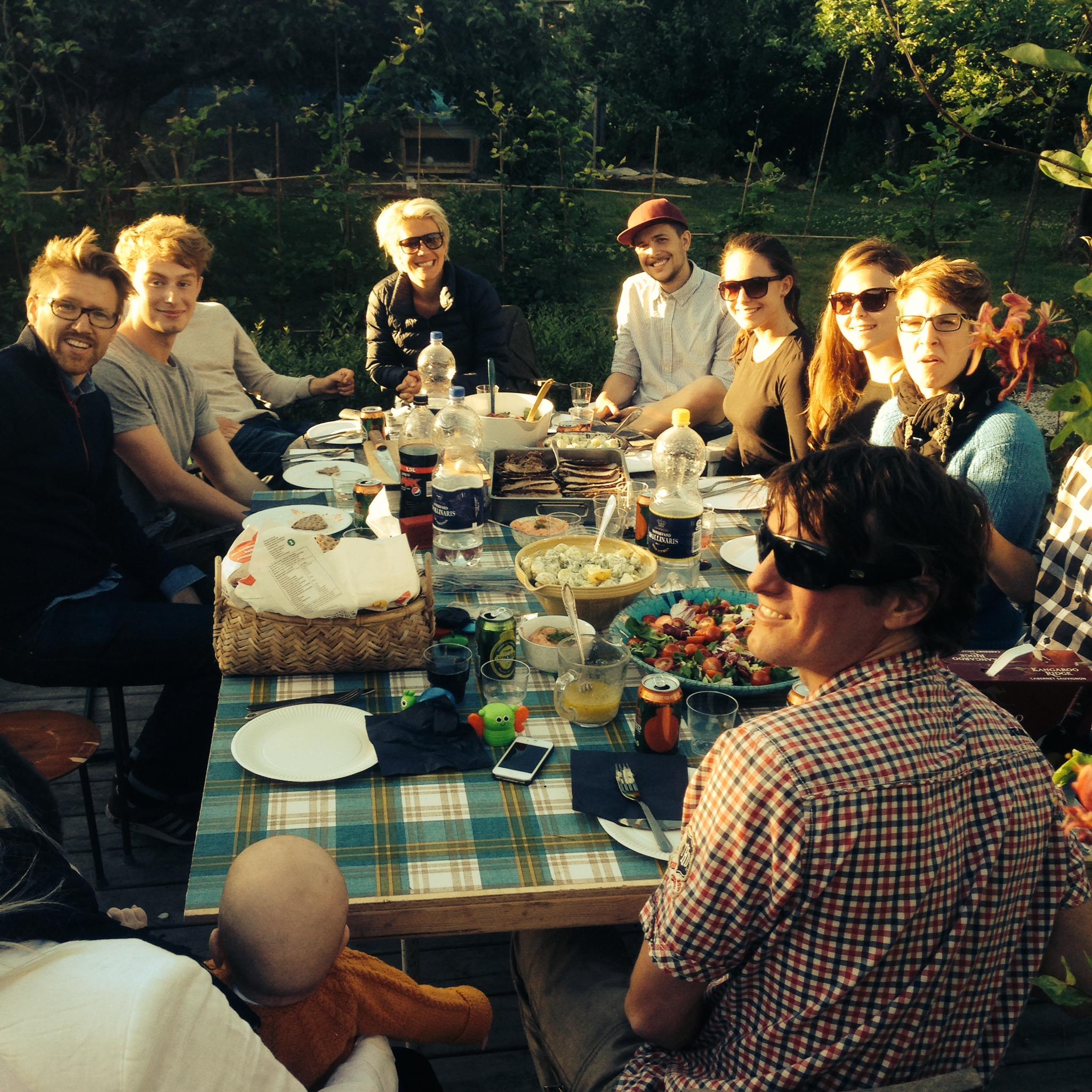 Dinner in the Garden