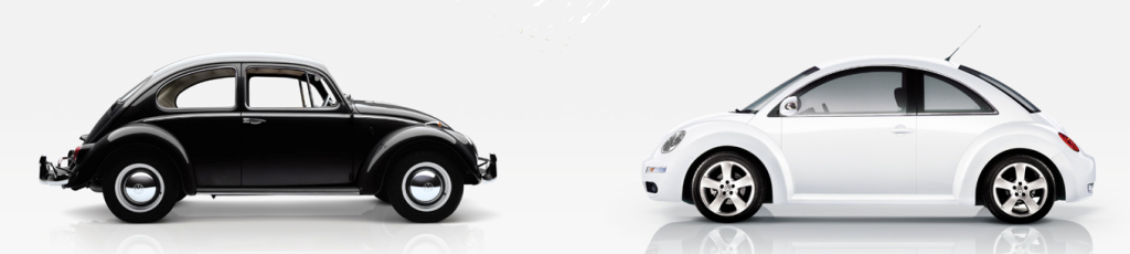old-new-beetle